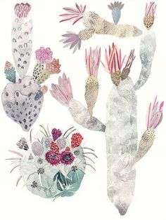 Painter Michelle Morin #plants #illustration #underwater #watercolour