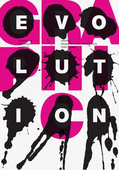 Graphic_evolution_poster #design #graphic #poster