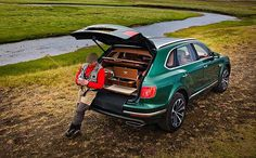 A double dose of British Sophistication: Bentley Bentayga Fly Fishing Edition #Mulliner #Bentayga #BentleyBentayga