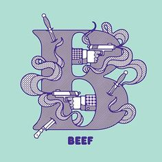 FFFFOUND! | Better Known As Brooklyn : Razauno #design #beef