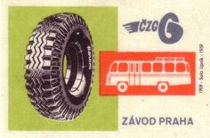 All sizes | The Czech Tire Co. | Flickr - Photo Sharing! #matchbox #vintage