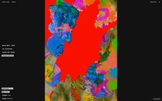 Maylis & David website webdesign art print screen beauty beautiful experimental modern french webdesign site of the day www.mindsparklemag.c