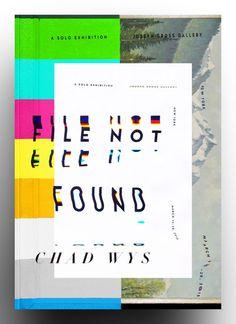#typography #book #cover #box #glitch