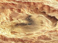 Science and Technology #mars #crater