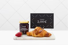 Keisari Bakery by Werklig #print #menu #label