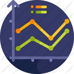 See more icon inspiration related to business and finance, bar chart, finances, line graph, growth, stats, growing, benefits, report, graphics, statistics, graph, business, bars and graphic on Flaticon.