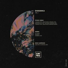 Endemika Vol. 1 J.Marsh #cover #album #design #art