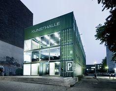 Platoon Kunsthalle by Platoon, Berlin office design #exhibition #up #temporary #pop