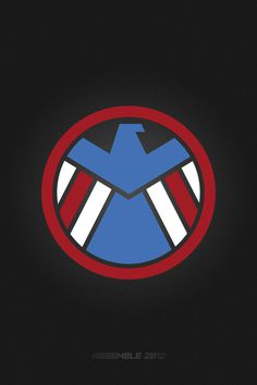 The Avengers #design #captain #avengers #minimal #poster #america