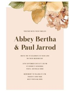 Blooming Day - Wedding Invitations #paperlust #weddinginvitation #weddinginspiration #weddingstationery #cards #paper #digitalprint