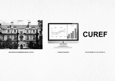 Branding for CUREF #madbull #cambridge #branding #uk #design #real #finance #estate