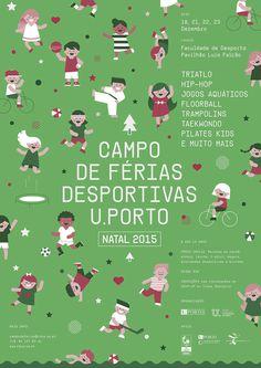 Poster Campo de Ferias (Sports Camp) by Gen Design Studio