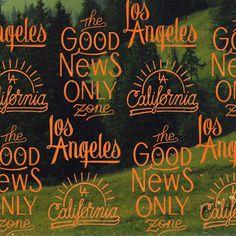 #type #lettering #LosAngeles #GoodNewOnlyZone #California #instagram