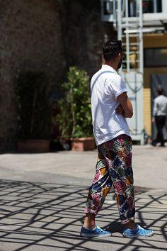 61212PrintB8931Web.jpg 590×885 pixels #fashion #print #pants