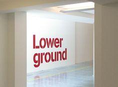 The Johnson Building signage | Cartlidge Levene #typography #type #signage