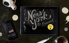 NYC Readiness Challenge — by I Shot Him #interactive #lettering #photo #portfolio #illustration #york #type #web #new