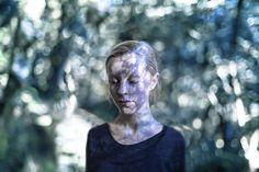 Photographs by Abbie Calvert - Wild, Bleeding Heart #portrait #nature #forest #light #shadow