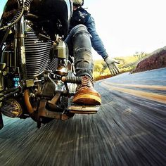 👊🏼@marcelodiogo killing it with his GoPro - Road Pics 📸 #RideFarRideFree Bobber Chopper Harley Davidson Motorcycle Lifestyle Custom