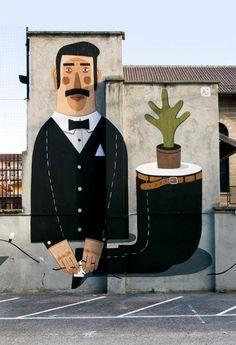 563608_454674304597490_1519672597_n #bow #hand #mural #tie