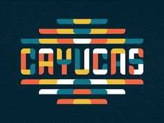 Cayucas_type #lettering