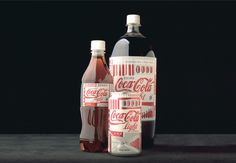 Duffy and Partners Minneapolis MN Branding Packaging Design #coke #diet #packaging #coca #european #cola