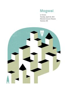Mogwai / Errors - Doublenaut #gig #poster