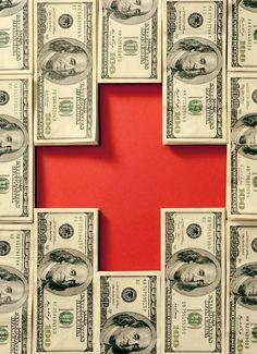 Healthcare money bills