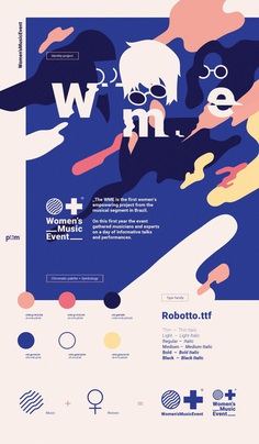 Women's Music Event by Estudio Pum