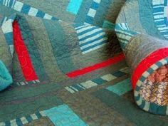 Modern Art Quilt #art #modern