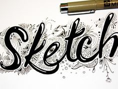 Dribbble - Sketch by Jim Ward #lettering