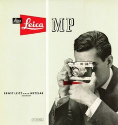 3oE0.jpg 695×734 pixels #vintage #advertising #camera #leica