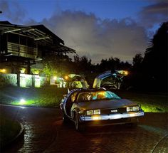 FFFFOUND! #the #future #back #80s #delorean #movies #car #to