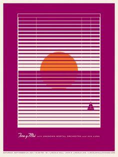 JASON MUNN - Toro y Moi - Poster #munn #small #jason #y #print #toro #screen #moi #stakes #posters