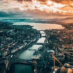 Switzerland From Above: Stunning Drone Photography by Otto Carlin