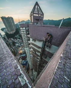 #discoverhongkong: Creative Rooftop Photography by Shmolech Wong
