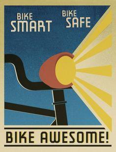 Portland Mercury Bike Issue : inexpert inquiry #bikes #illustration #poster