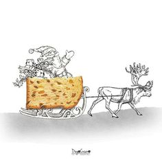 Daily Food Become Funny Sketches of Diego Cusano
