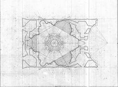 2009_SPR_ARCH1502_COLON_SU_boromini | Flickr - Photo Sharing! #drawings #borromini #architecture #plans