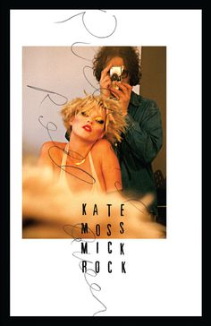 kate moss mick rock