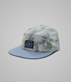 Fourth is King Camo 5 panel Camper Hat #branding #camo #design #is #fourth #headwear #hats #streetwear #fashion #king #5panel