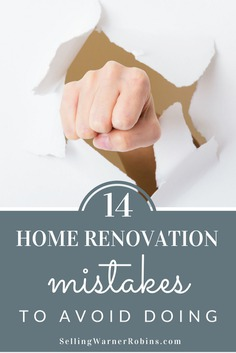 14 Home Renovation Mistakes To Avoid