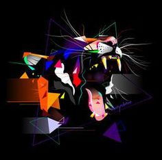 Henry Osborne | Art and Design #artwork #digital #illustration #henry #tiger #osborne