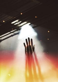 Baubauhaus. #photography #light #hand #silhouette #color