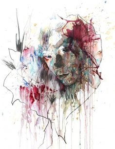 Eyestorm Online Gallery - Somewhere - Carne Griffiths #painting