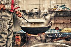 Cooking chaos #photography #cook #till #smoke