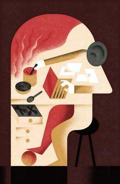 Economia Magazine III - Aron Vellekoop León #illustration