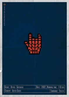 H-and Movie #movie #superhero #and #design #gerald #vintage #poster #web #york #bear #action #hand #new