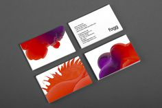 http://www.thisiscollate.com/blog/2013/3/18/bunch-fogg #business #card #branding