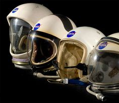 Smithsonian's Spacesuits: Number One On The Runway #helmets #nasa #mercury #1964