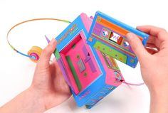 Back to Basics: Retro Electronics Made of Paper by Zim and Zou | Colossal #electronics #retro #zim #and #zou #paper